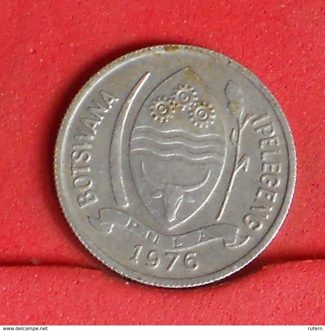 BOTSWANA 1 THEBE 1976 -    KM# 3 - (Nº19890) - Botswana