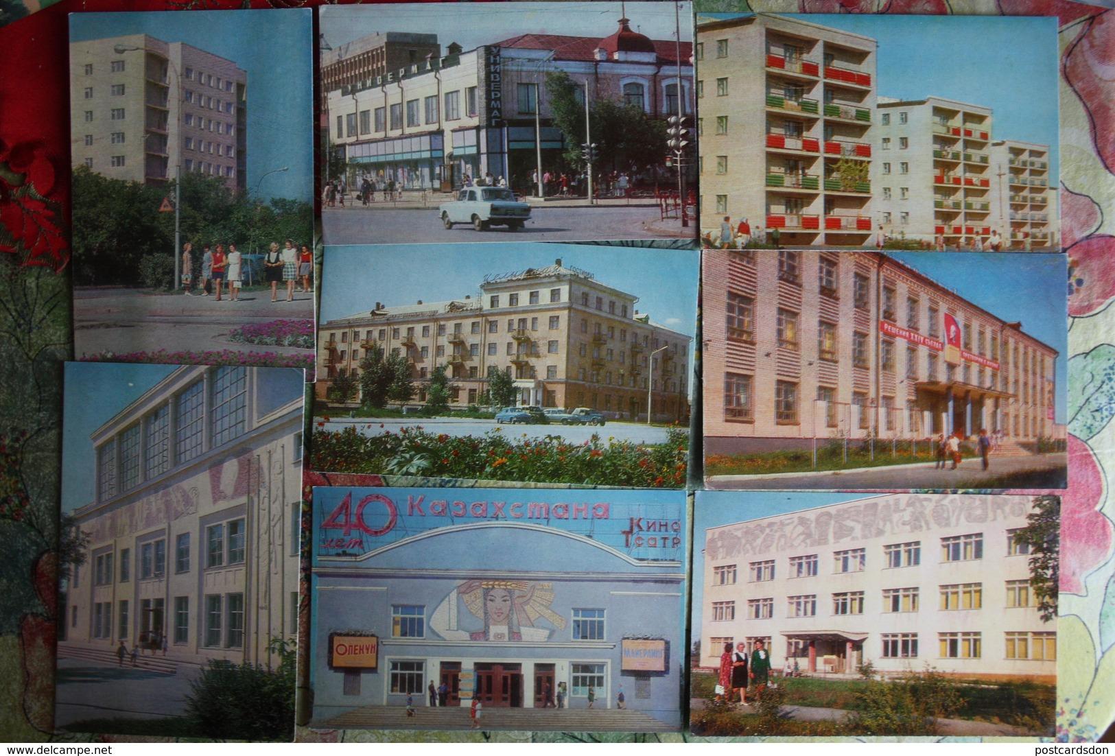 KAZAKHSTAN. Kostanay / Kustanay . 9 PCs Lot  1972 - Kazakhstan