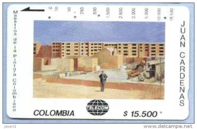 COLOMBIA : COLMT38 $15500 JUAN CARDENAS Edificios USED - Colombia