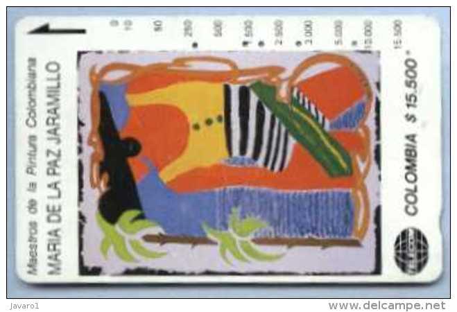 COLOMBIA : COLMT50 $15500 MARIA PAZ JARAMILLO1992 Mujer Caraibe USED - Colombia