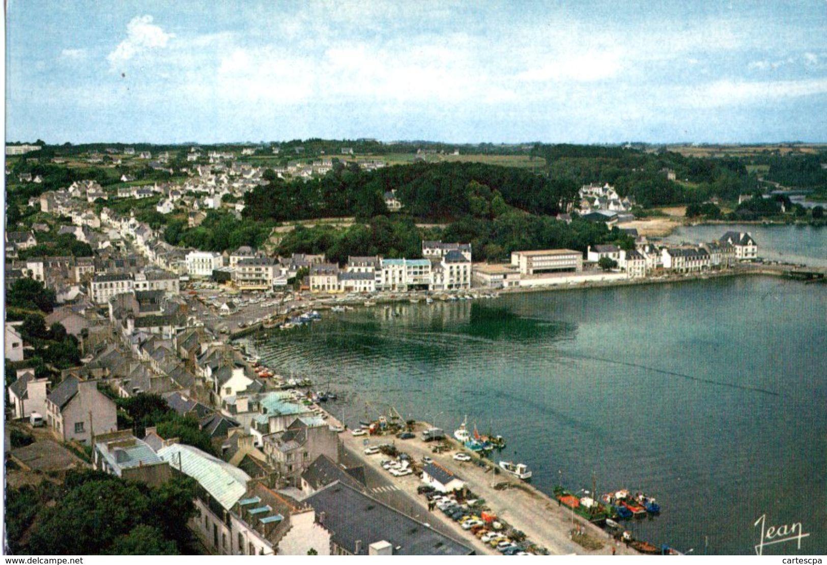 Audierne Vue Generale Le Port Et La Riviere De Goyen 1978 CPM Ou CPSM - Audierne