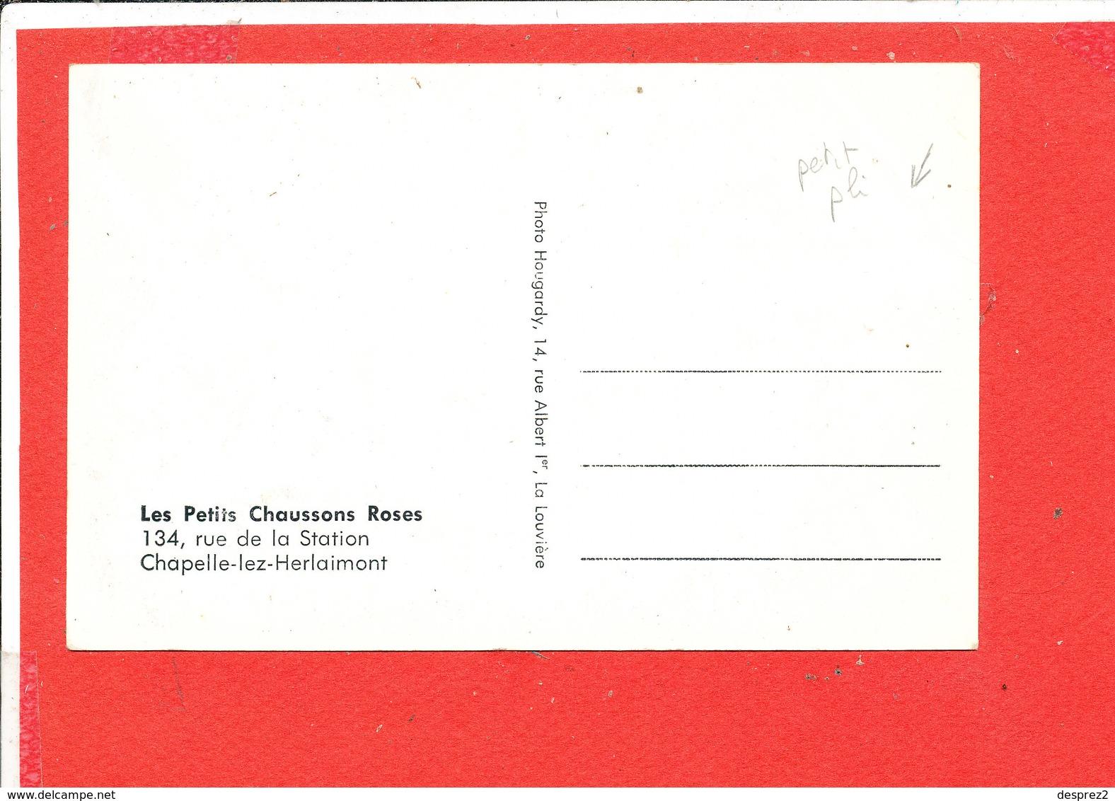 CHAPELLE Lez HERLAIMONT Cpsm Animée DANSE DANSEUSES  Les Petits Chaussons Roses - Chapelle-lez-Herlaimont