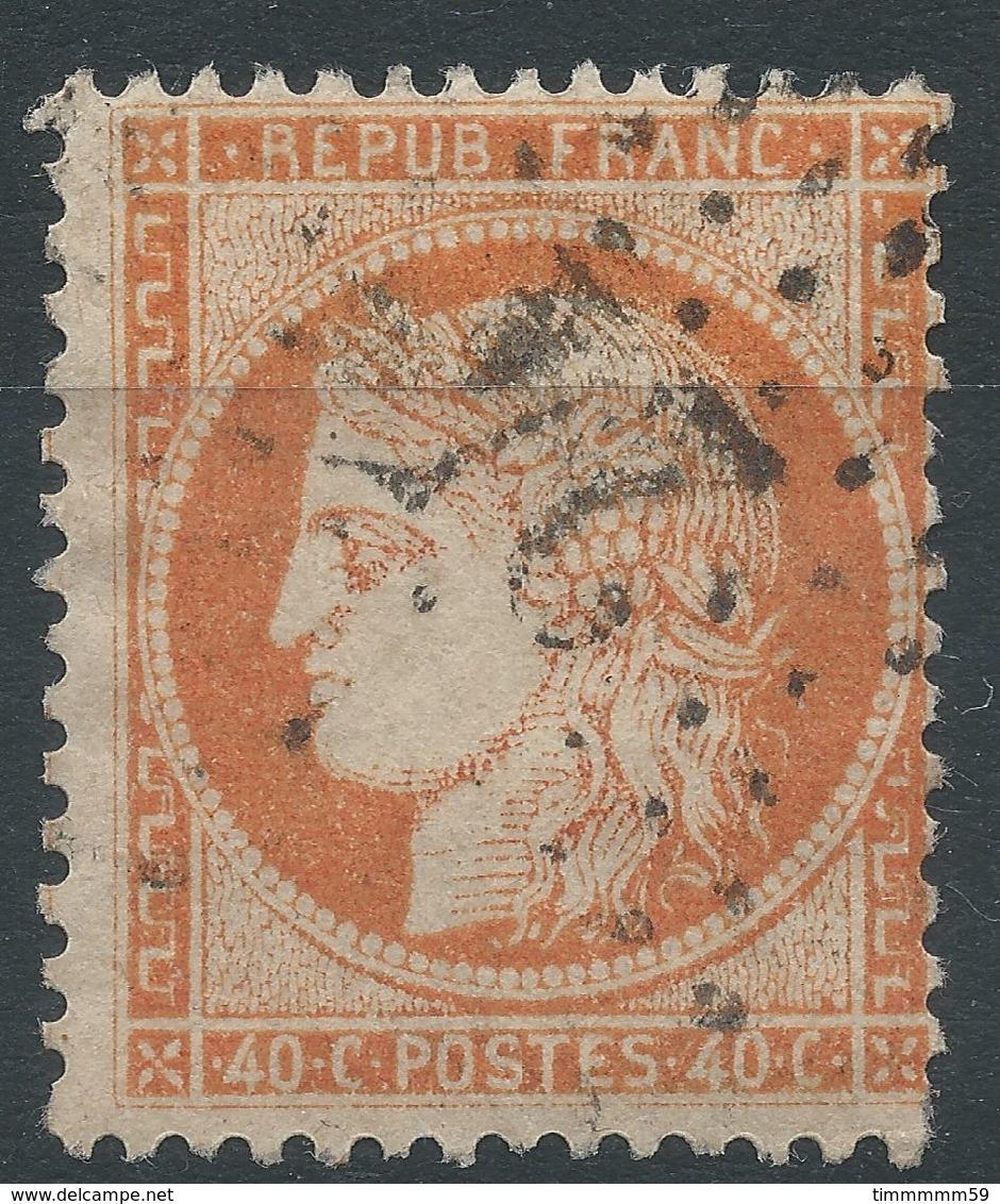 Lot N°39727  N°38, Oblit étoile Chiffrée 24 De PARIS (R. De Cléry) - 1870 Siege Of Paris