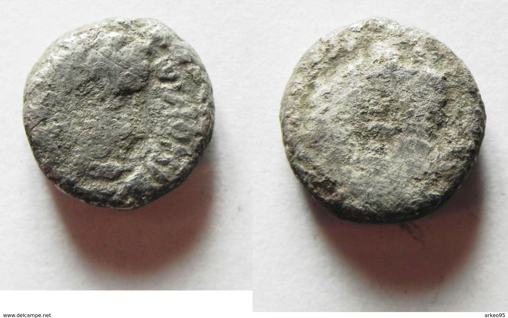 Drachme D'argent De Rabbel II Roi Des Nabatéens - Orientales