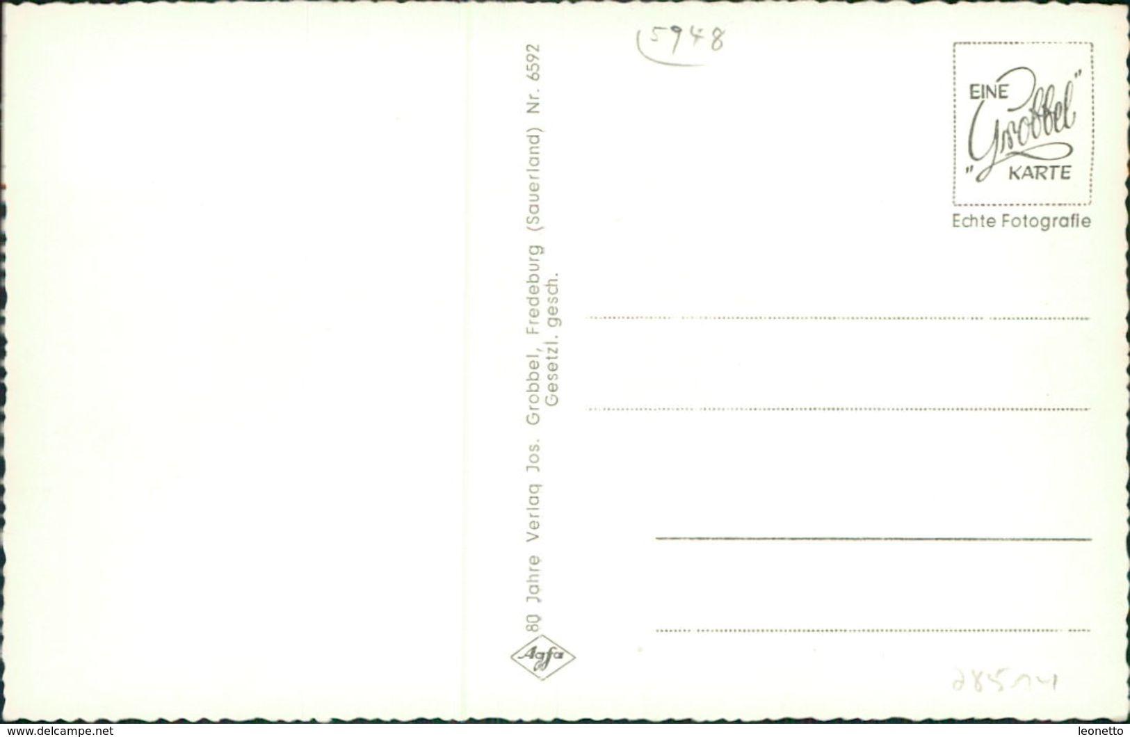 AK Schmallenberg Oberkirchen Hochsauerland, Gesamtansicht, Um 1960 (28514) - Schmallenberg