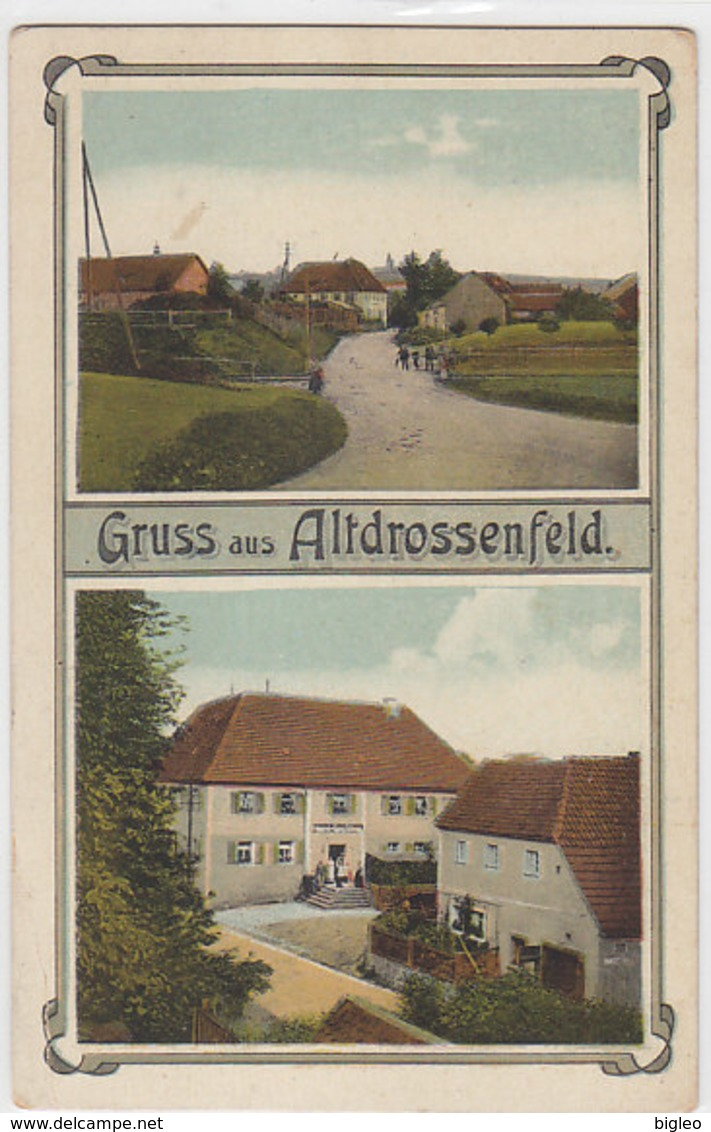 Gruss Aus Altdrossenfeld           (A-66-100416) - Germania