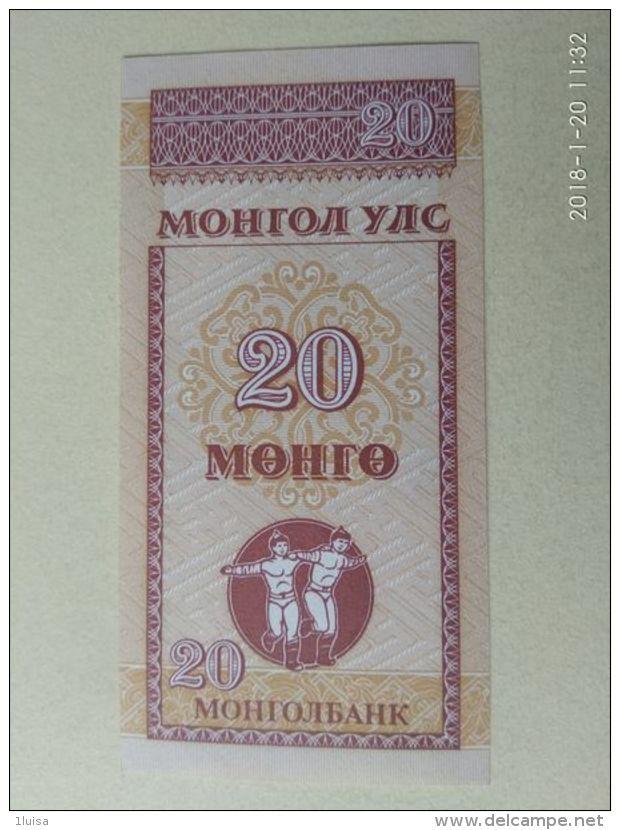 20 Menca 1993 - Mongolia