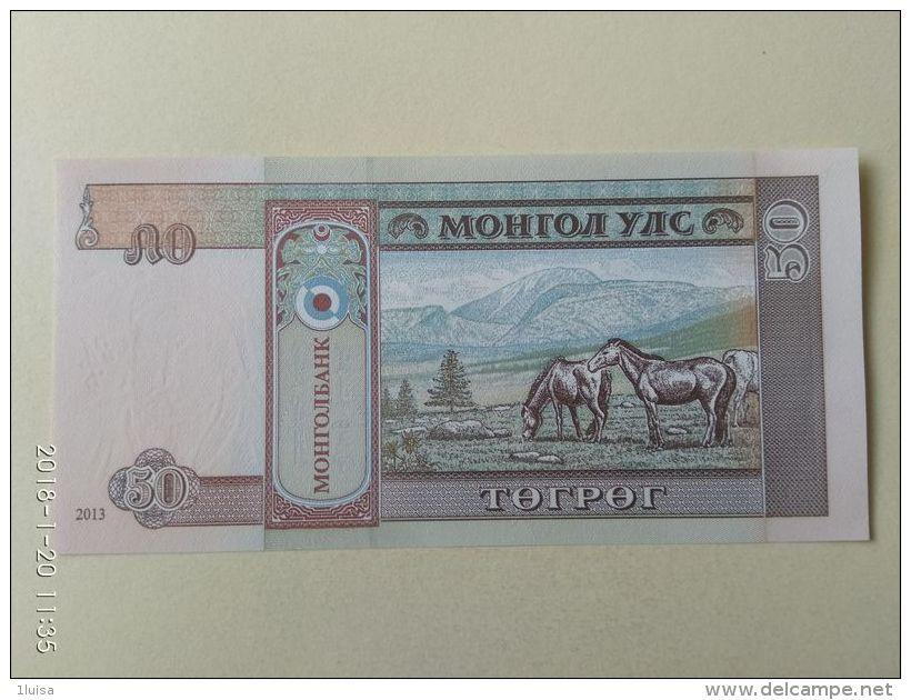 50  Tugriks 1993 - Mongolia
