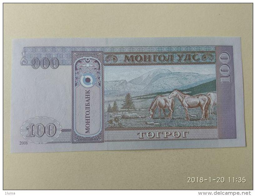100  Tugriks 2000 - Mongolia