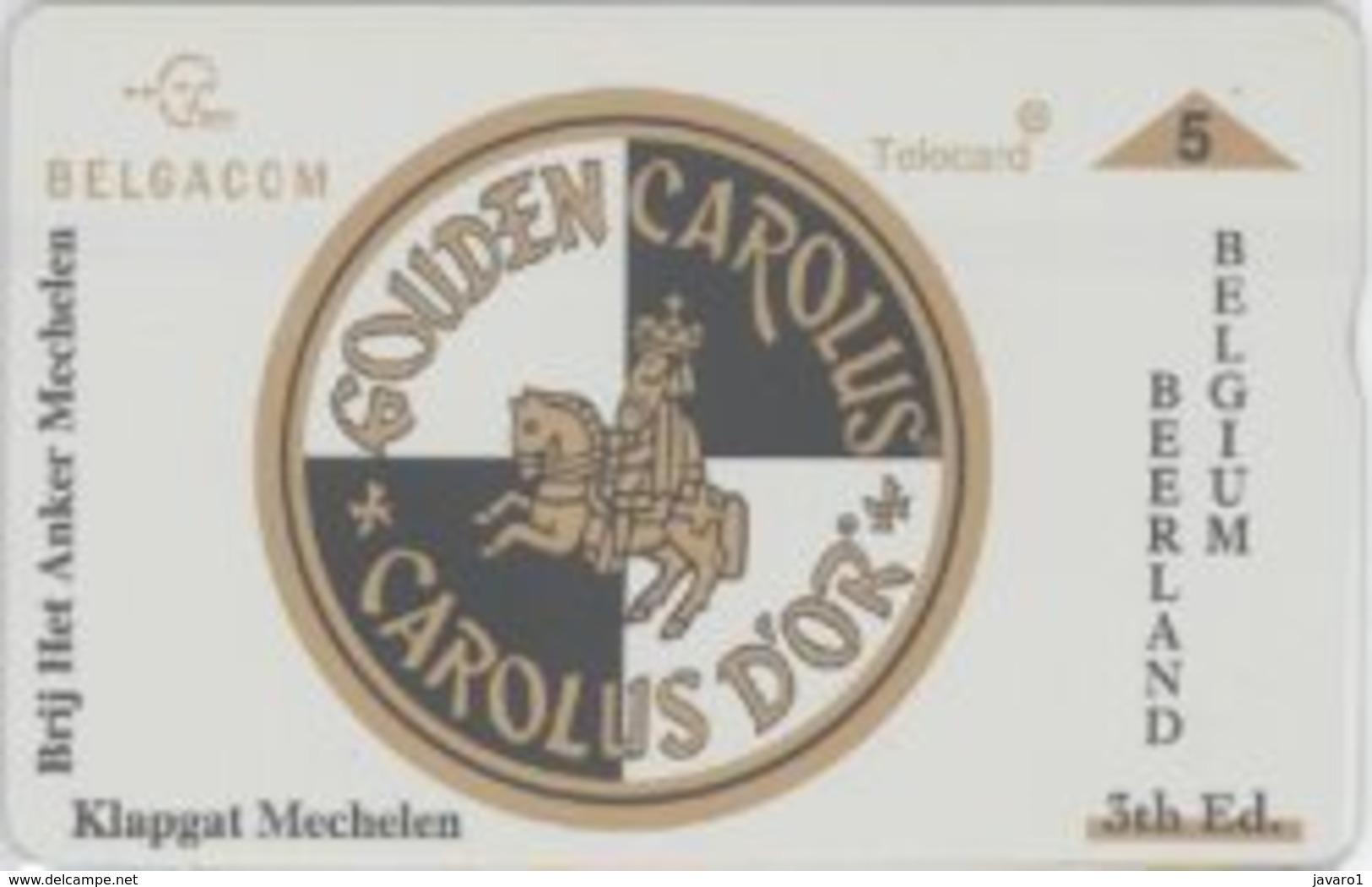BPR-1996 : P373 5u GOUDEN CAROLUS 3rd ED.(beer) MINT - Belgien