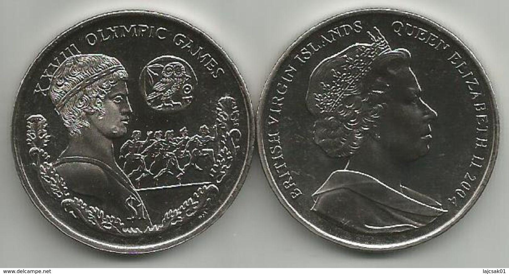 British Virgin Islands 1 Dollar 2004. XVIII. OLYMPIC GAMES - British Virgin Islands