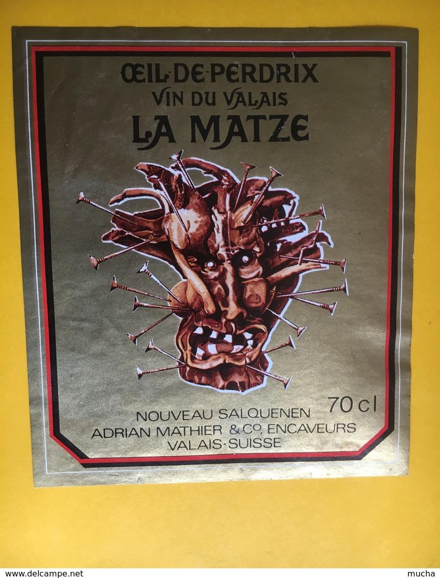 6526 - Oeil De Perdrix La Matze Nouveau Salquenen Adrian Mathier Suisse - Fruits & Vegetables