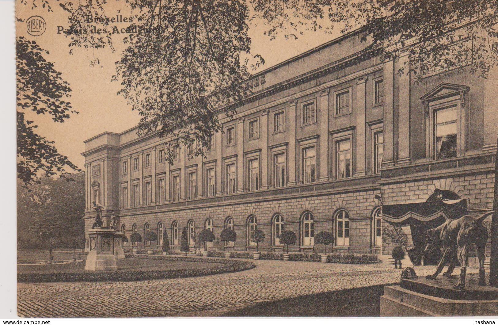 Cpa Bruxelles .Palais Des Académies. N°99 ALBERT - Internationale Instellingen