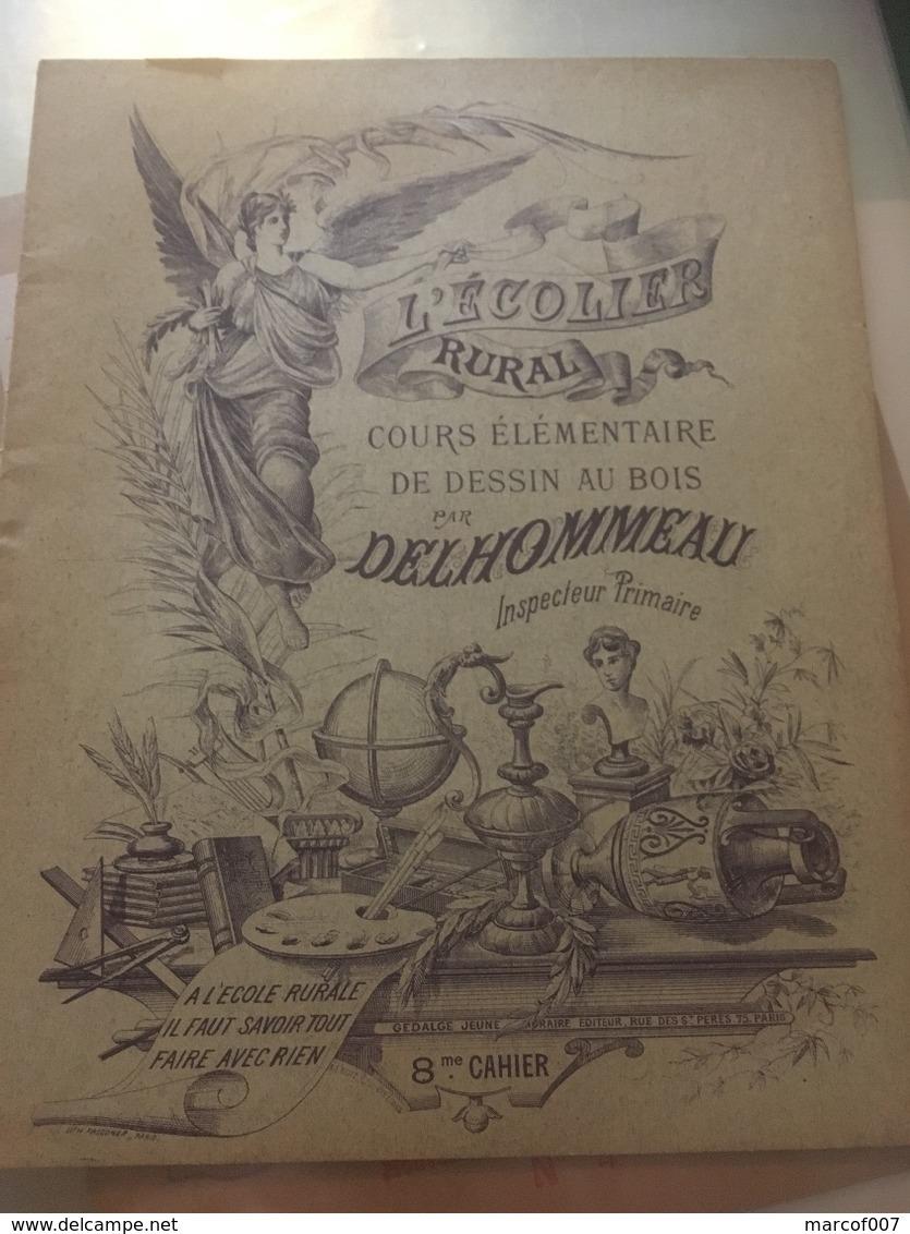 L écolier Rura Cours Dessin Au Bois L Fascicule Complet Tbe à Voir - Buvards, Protège-cahiers Illustrés