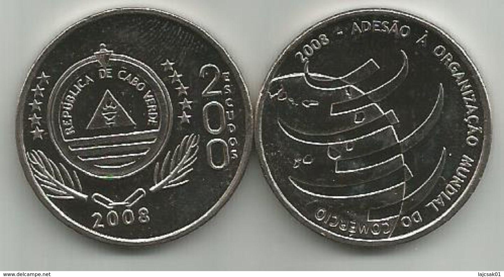 Cape Verde 200 Escudos 2008. UNC WTO KM#54 - Cap Vert