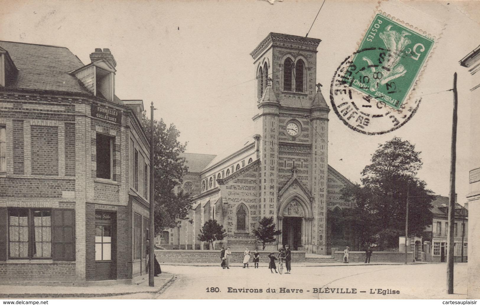 BLEVILLE : L'Eglise - Francia