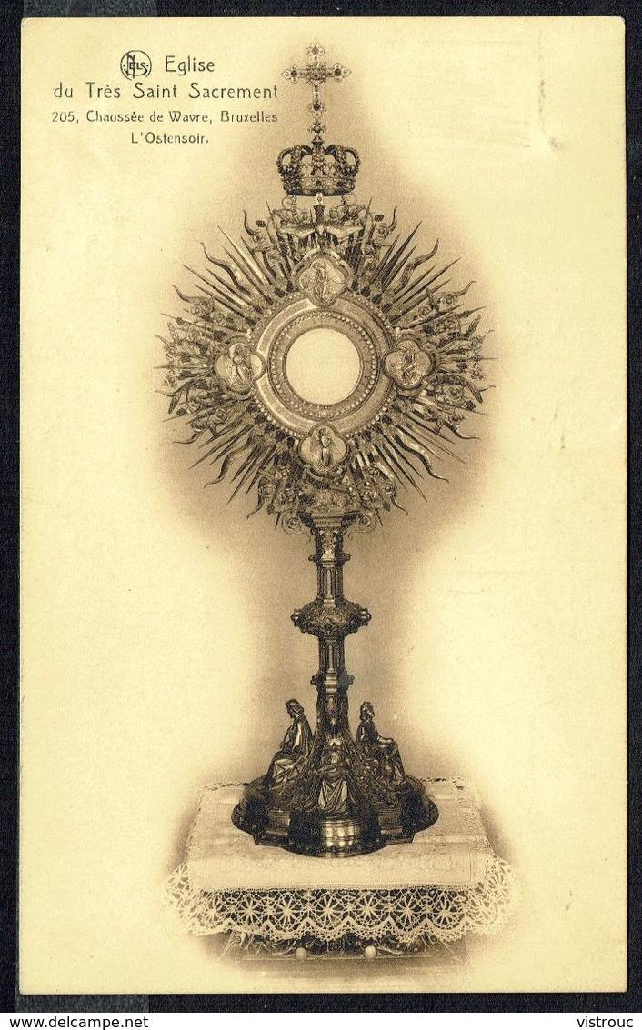 Ostensoir - Eglise Du Très Saint Sacrement De Wavre (Be) - Circulé - Circulated - Gelaufen - 1930. - Christianisme