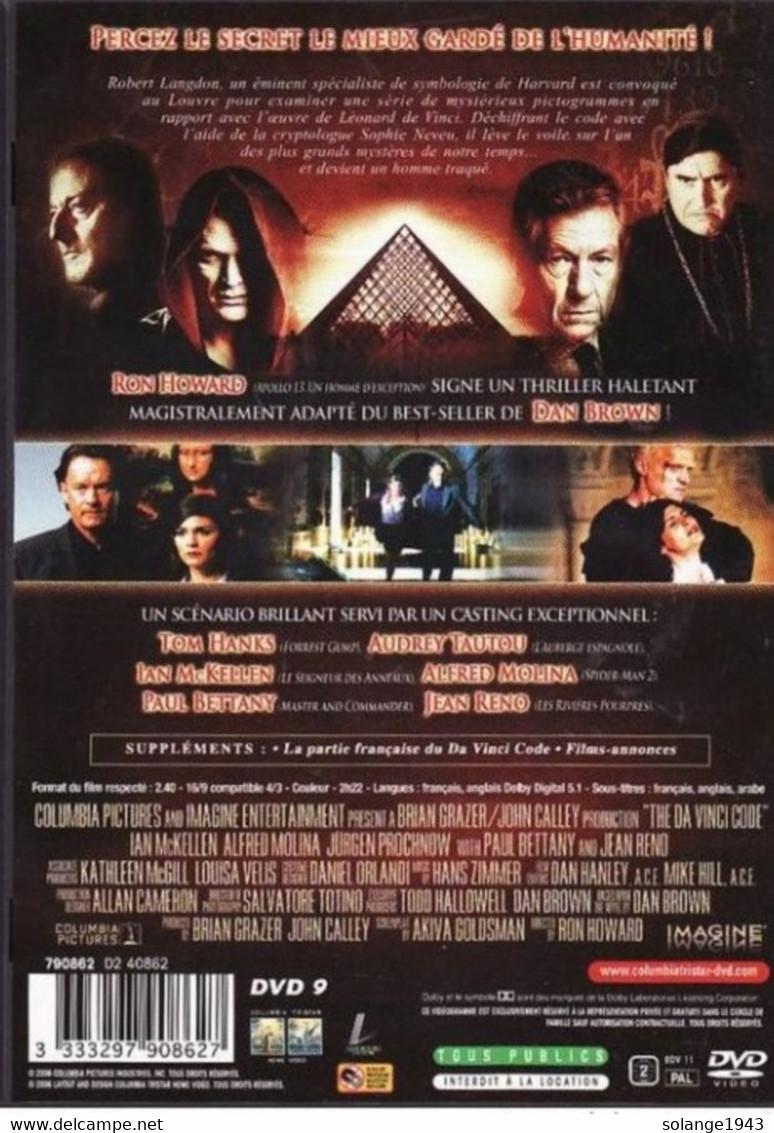 DVD Da Vinci Code Etat: TTB Port 110 Gr Ou 30gr - Policiers