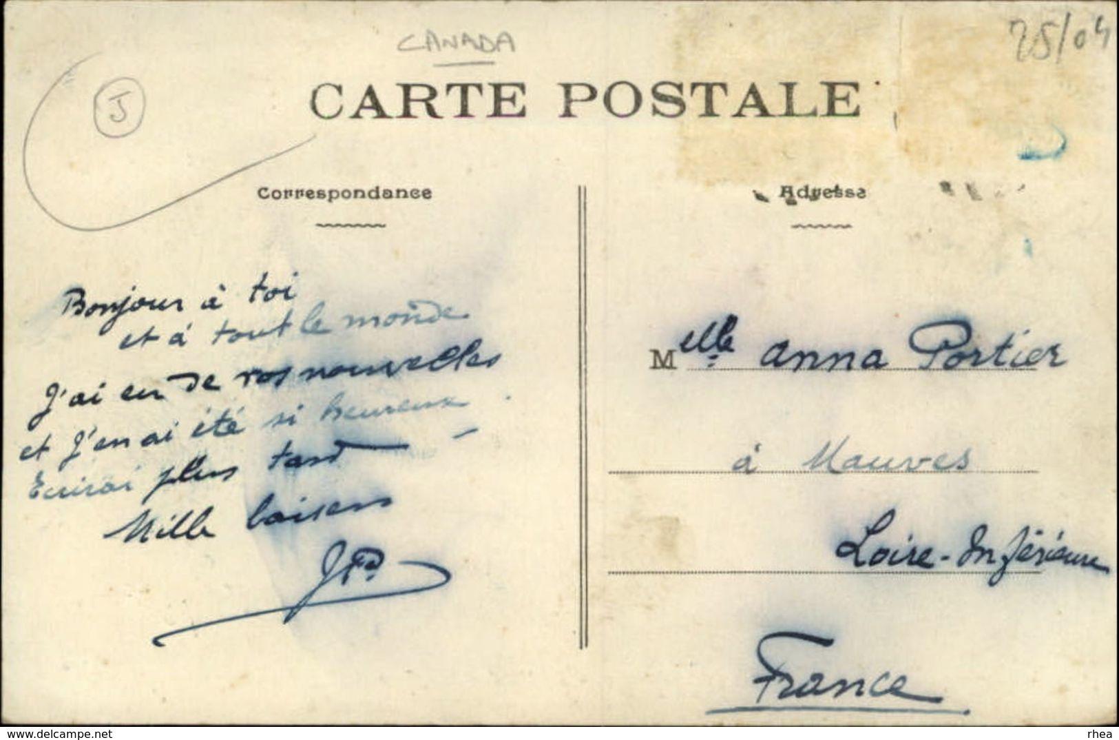 CANADA - QUEBEC - Lac Sainte-Anne - La Mission - Lettre Qui Accompagne La Carte - Autres