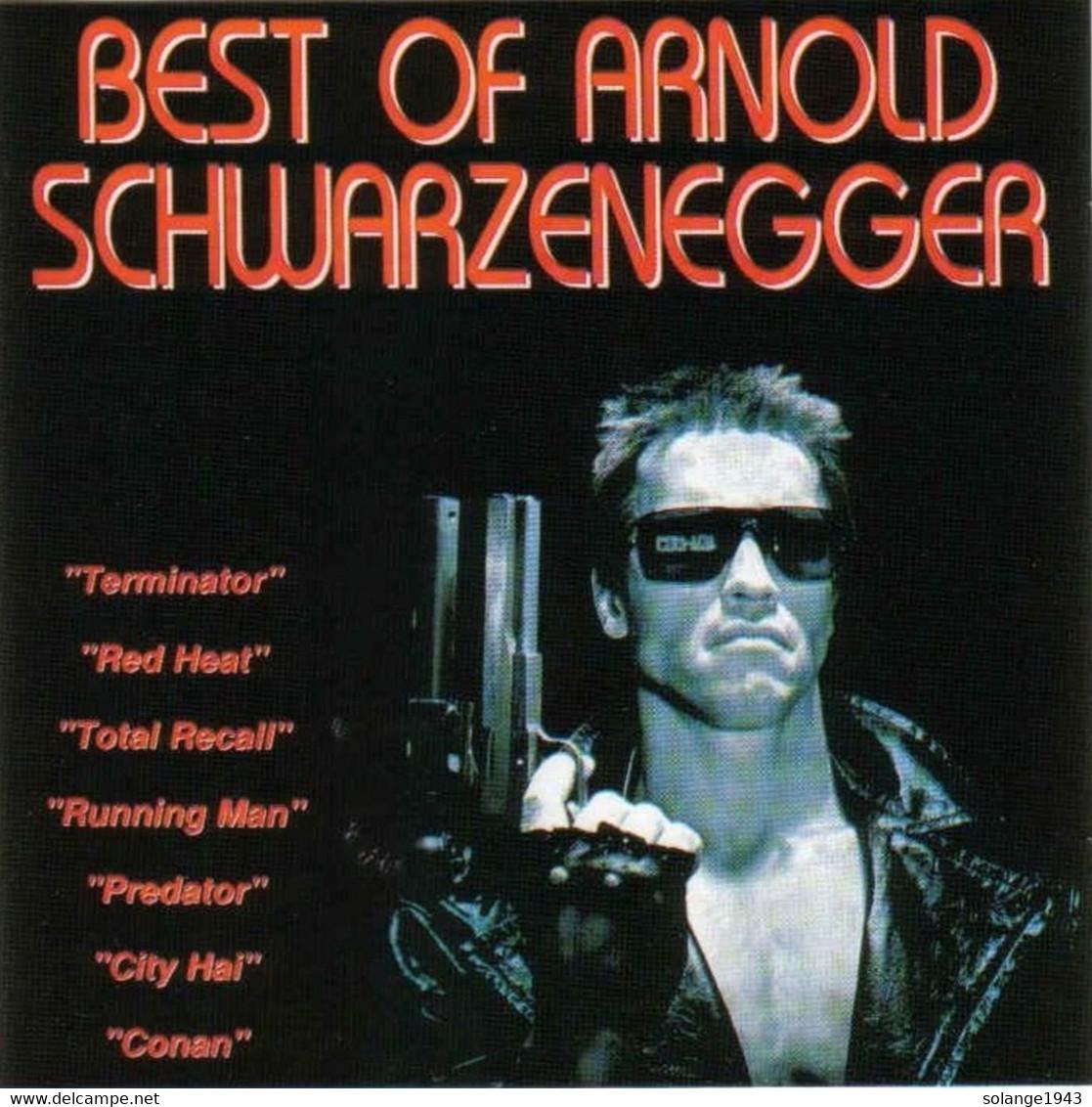 Cd BEST OF Arnold Schwarzenegger Etat: TTB Port 110 Gr Ou 30gr - Filmmusik