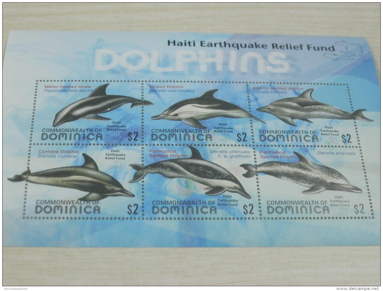 Dominica Dolphin Fish - Dominica (1978-...)