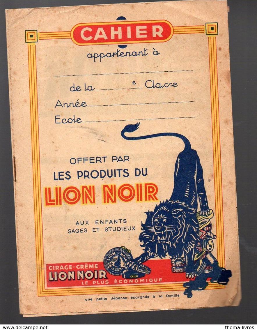 Couverture De Cahier LION NOIR (PPP6718) - L