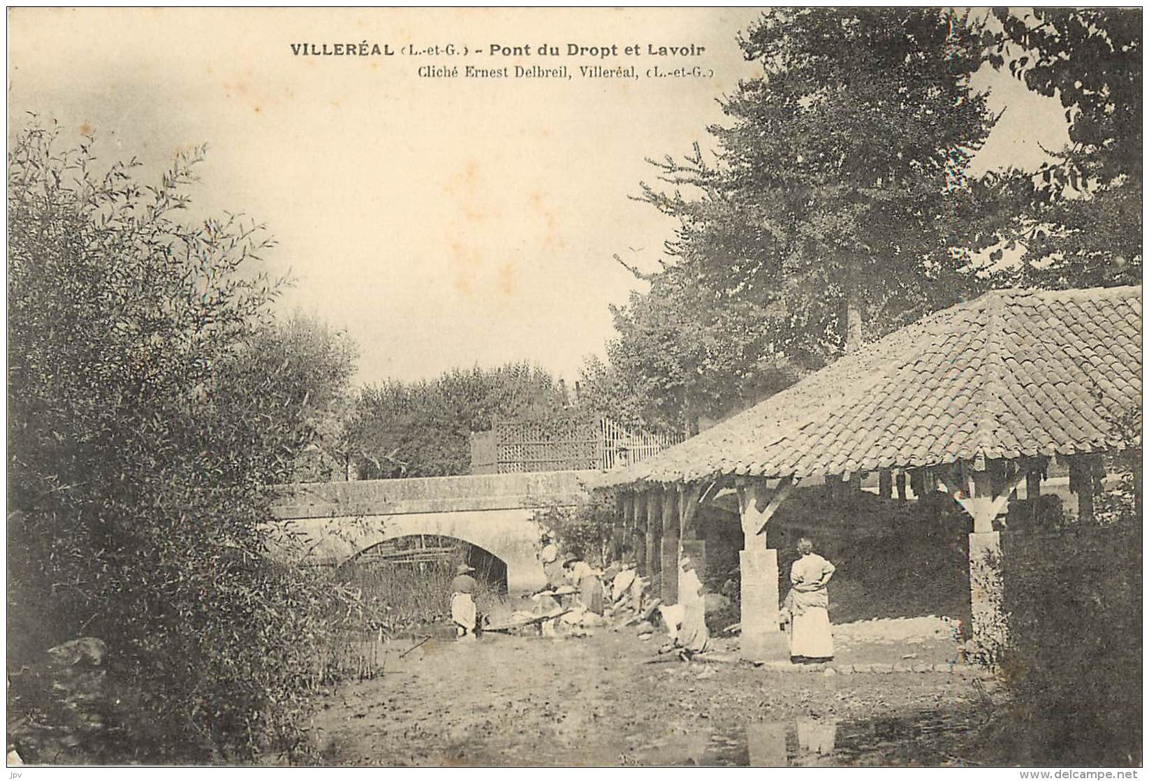 VILLEREAL - Pont Du Drop Et Lavoir - Autres Communes