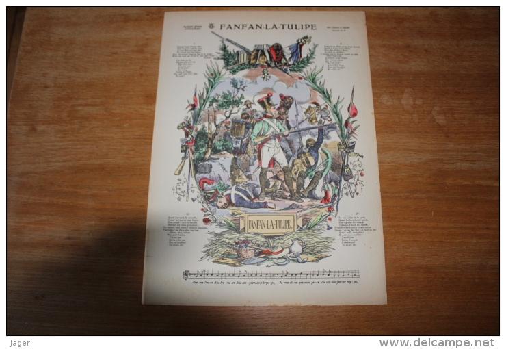 Imagerie  Populaire  Fanfan La Tulipe - Documents