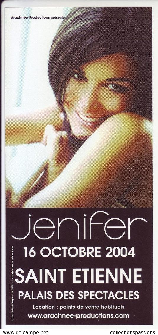 - Flyer - Jenifer - Palais Des Spectacles De St Etienne - - Musik & Instrumente
