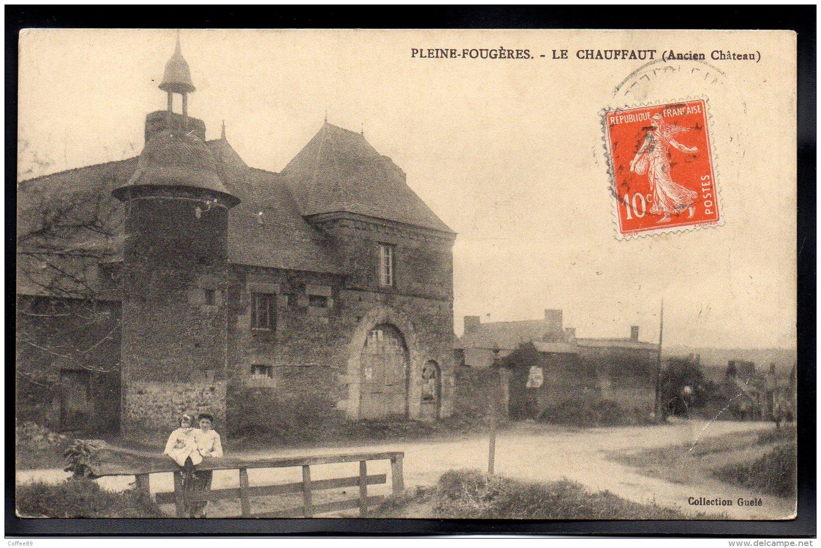 PLEINE FOUGERES 35 - Le Chauffaut (Ancien Château) - Fougeres