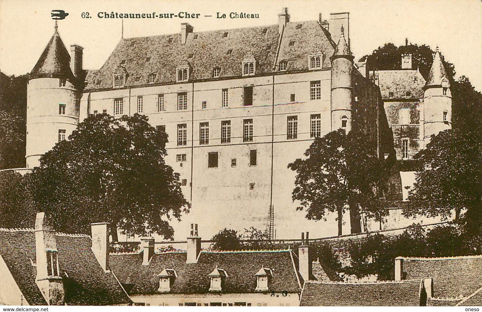 Cher - Lot N° 65 - Lots En Vrac - Lot Divers Du Département Du Cher - Lot De 33 Cartes - 5 - 99 Cartes