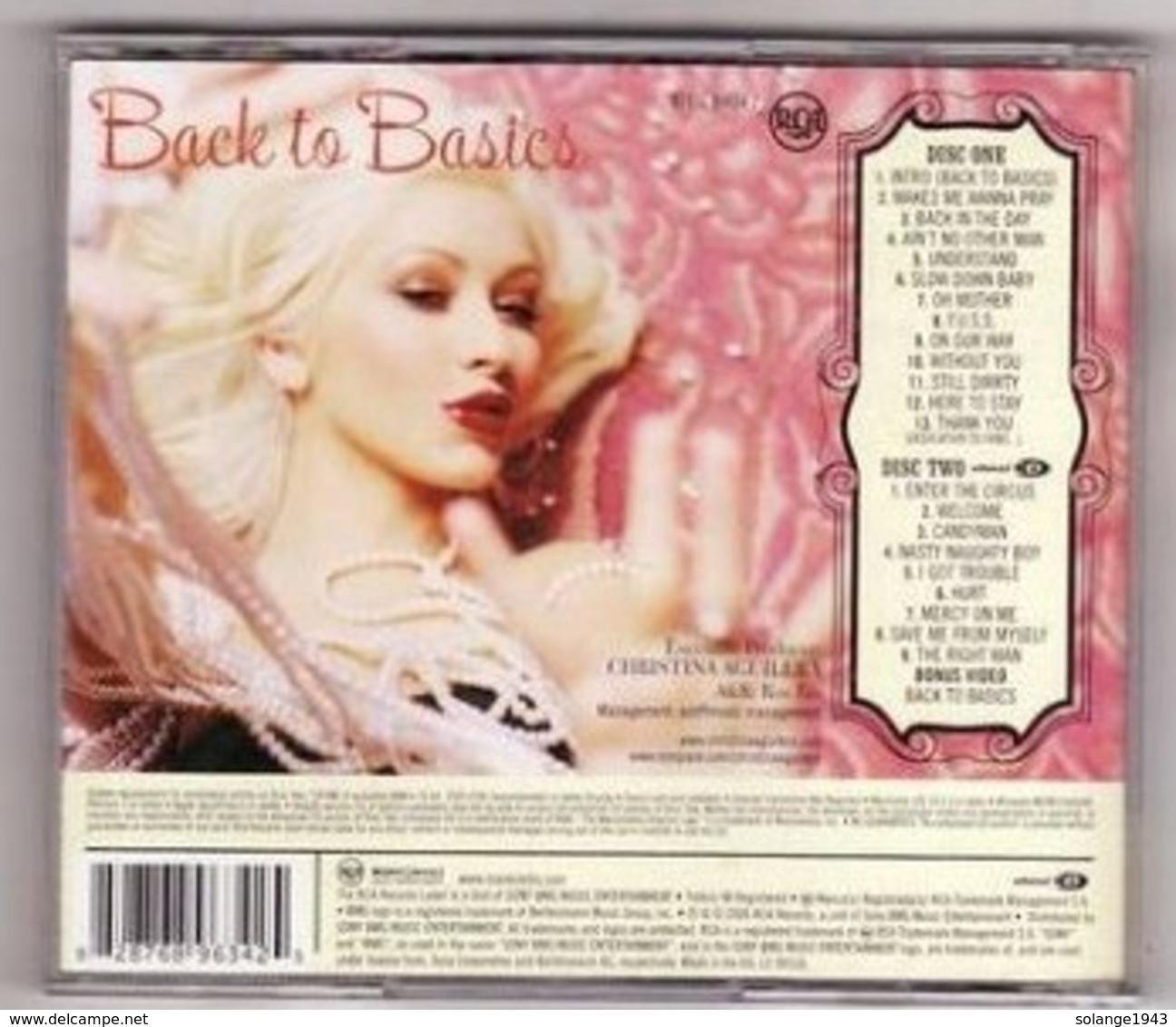 CD 2cd CHRISTINA AGUILERA BACCK TO BASICS ( état TTB Port 150gr ) - Music & Instruments