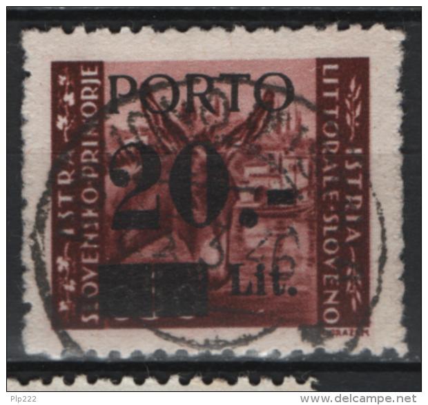 Istria 1945 Segnatasse Sass.S.5/II O/Used VF/F - Occup. Iugoslava: Litorale Sloveno