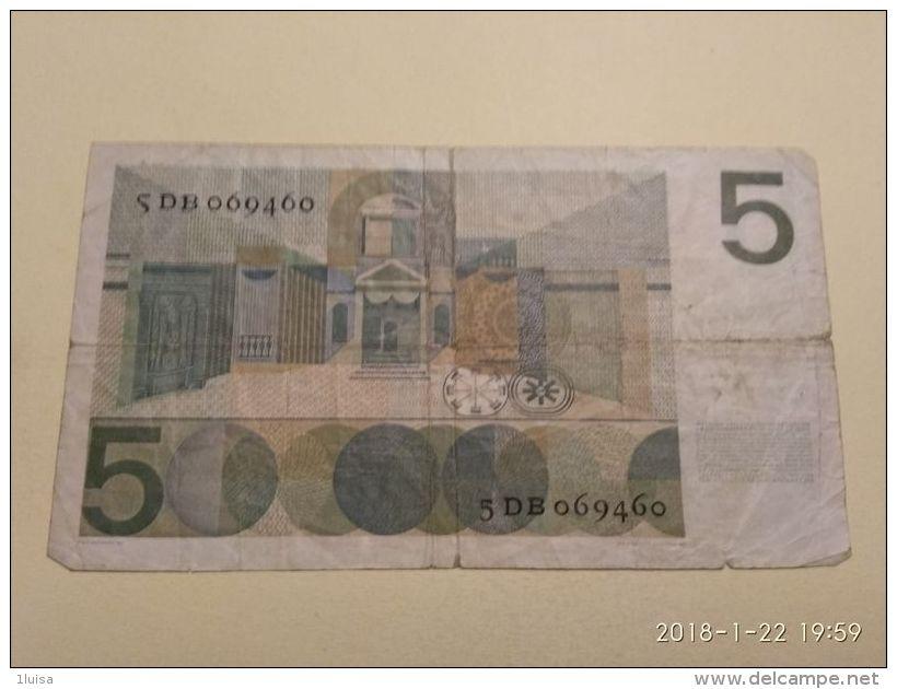 5 Gulden 1966 - [2] 1815-… : Regno Dei Paesi Bassi