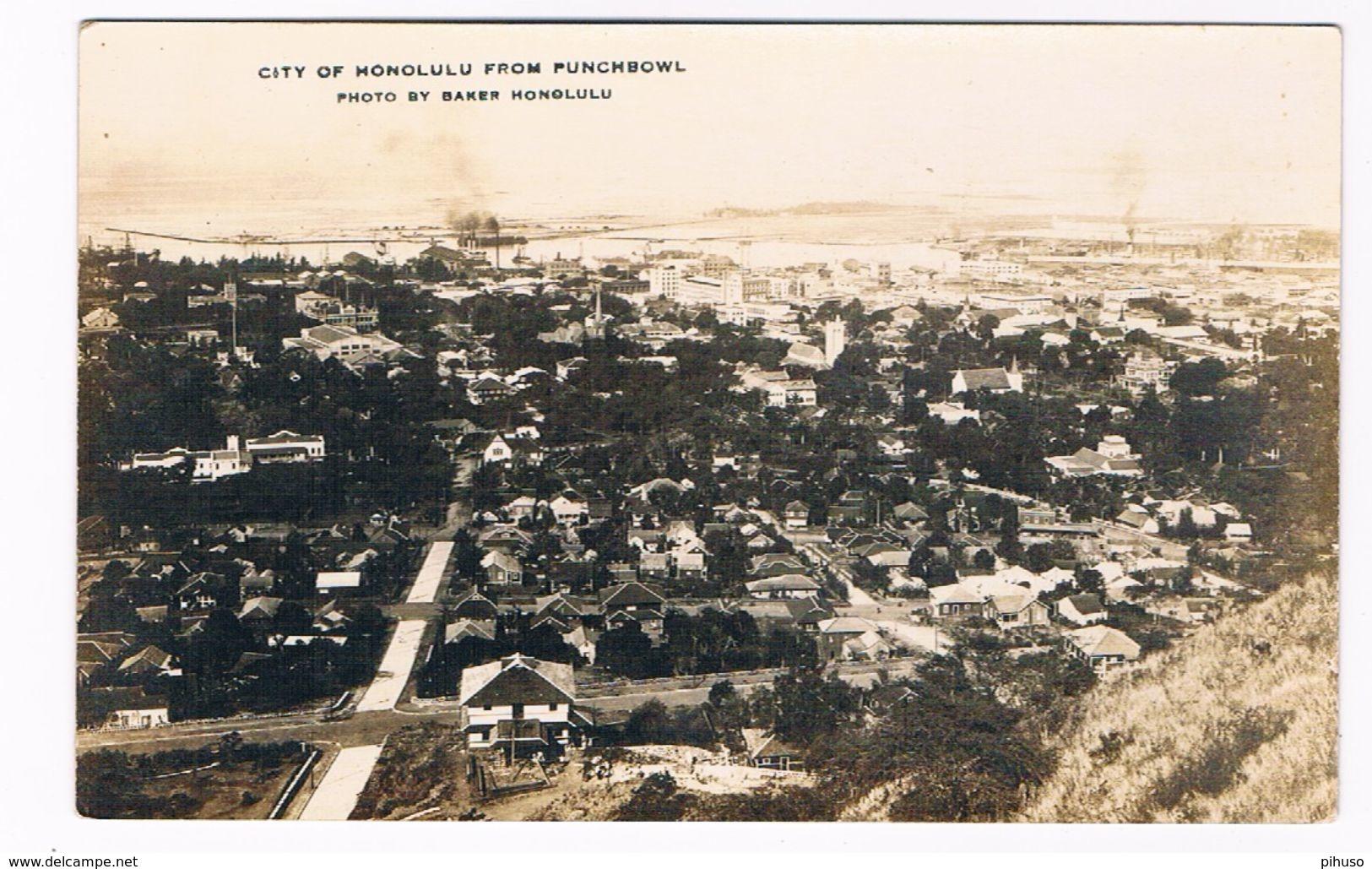 US-742  HONOLULU : From Punchbowl - Honolulu