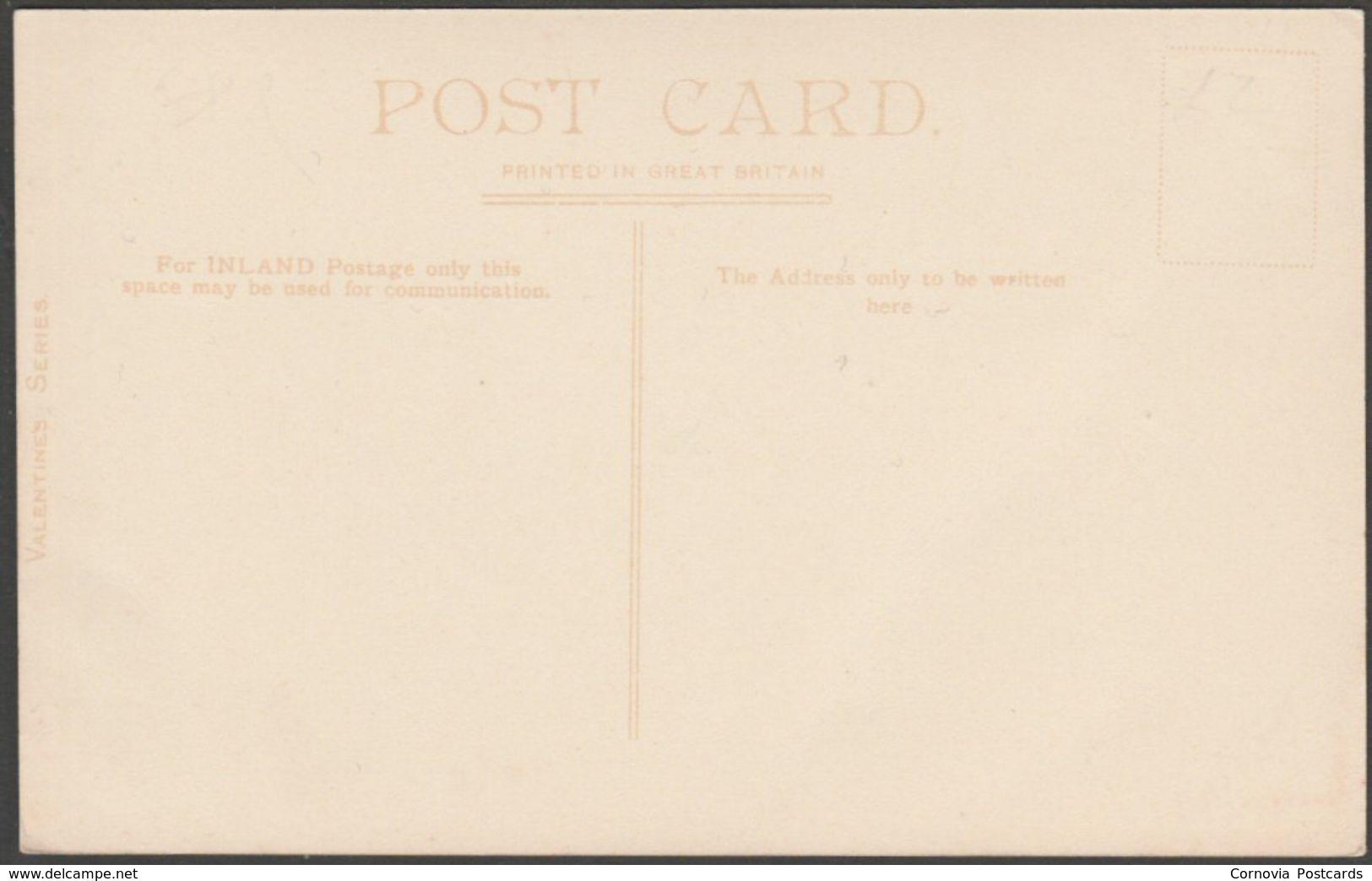 Salcombe From Ilberstow, Devon, C.1905-10 - Valentine's Postcard - England