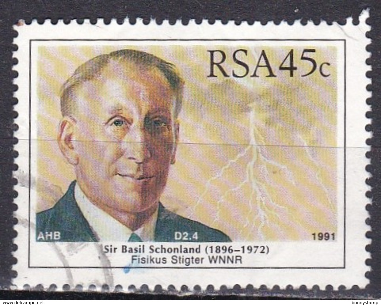Sud Africa, 1991 - 45c Sir Basil Schonland - Nr.811 Usato° - Sud Africa (1961-...)