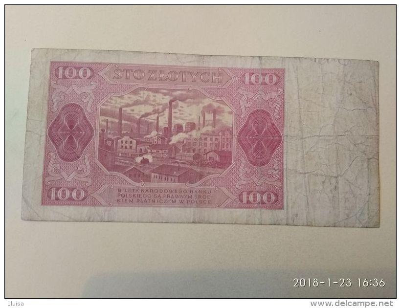 100 Zlotych  1948 - Polen