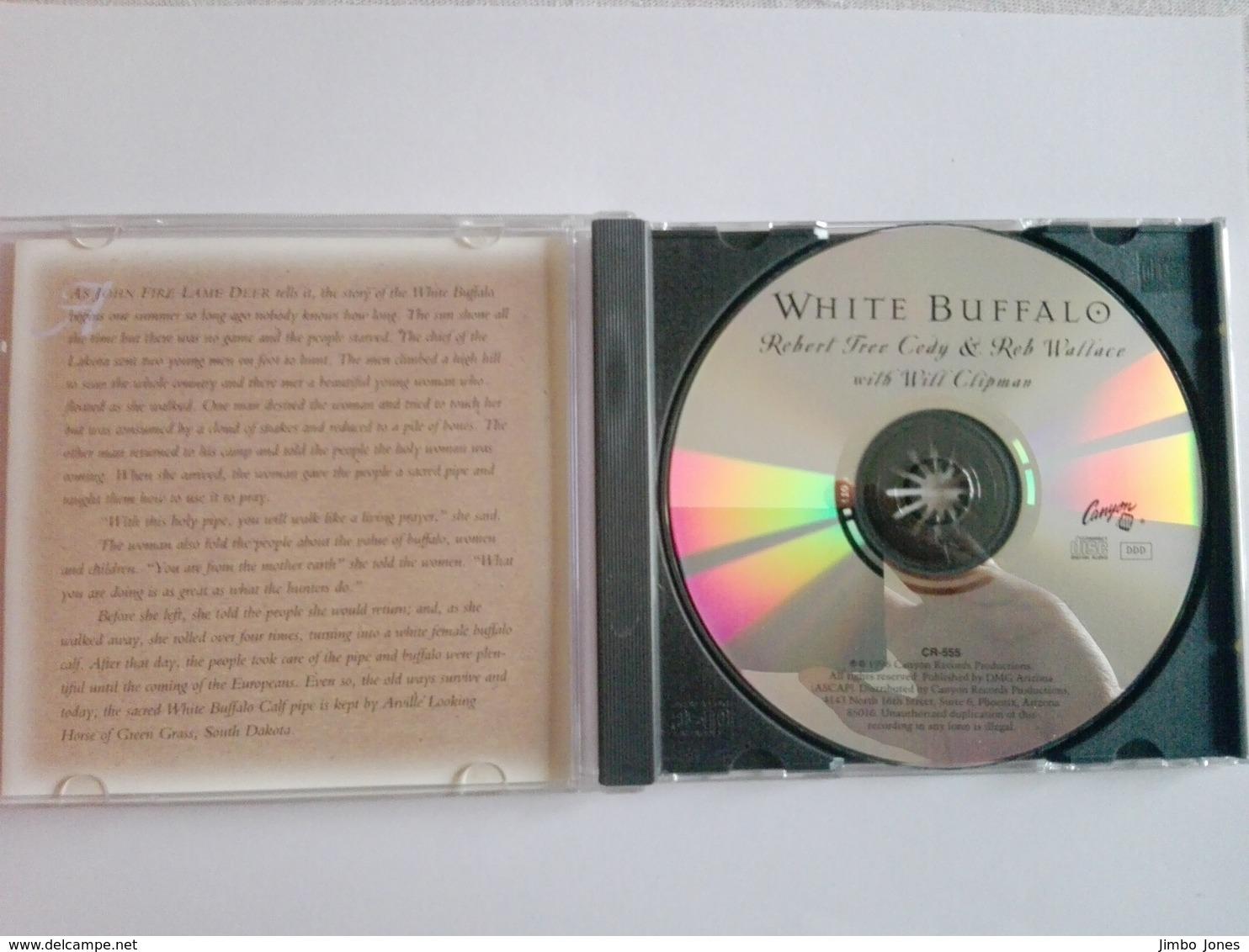 Robert Tree Cody & Rob Wallace - White Buffalo (1996) CD - World Music