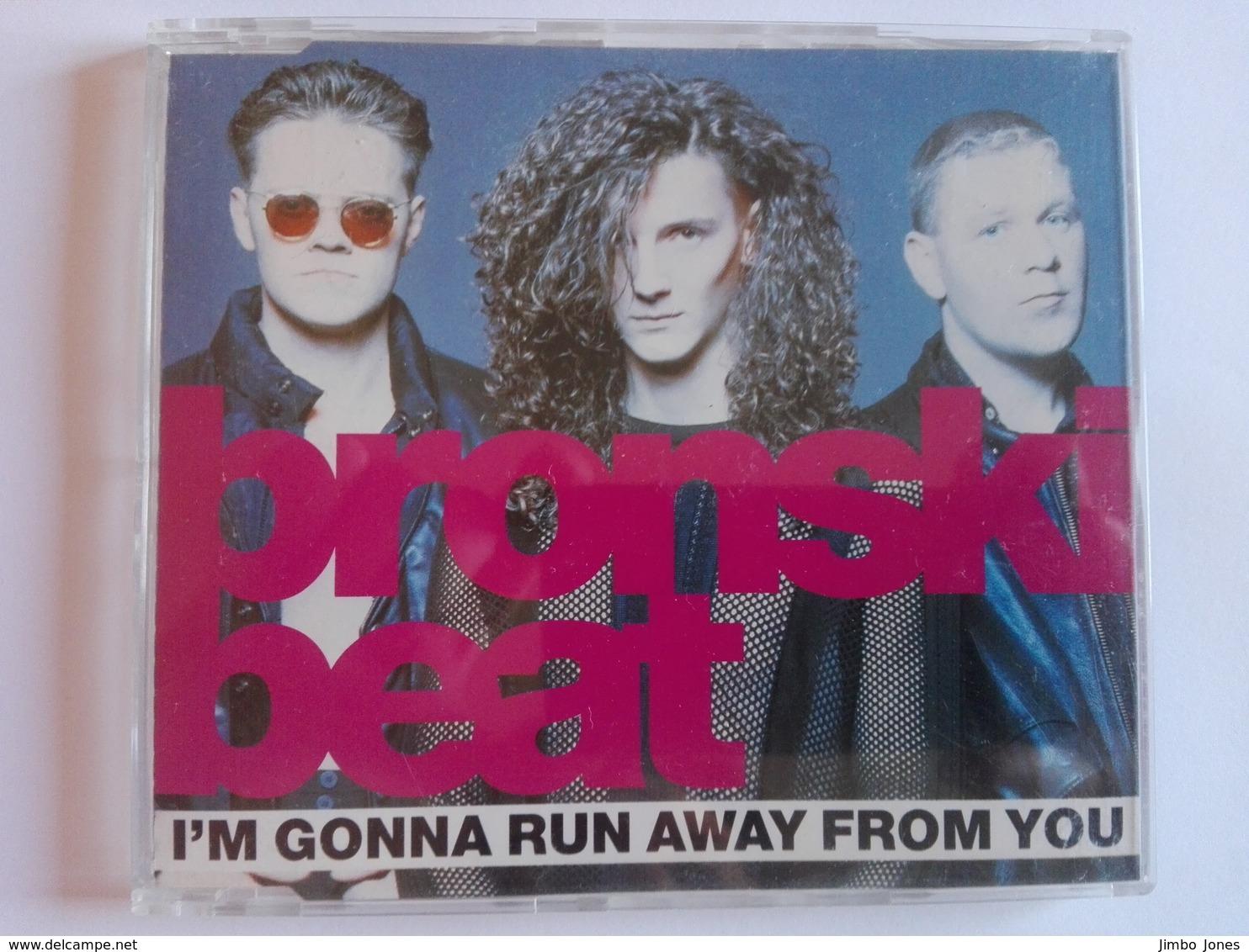 Bronski Beat - I'm Gonna Run Away From You (Maxi CD / 1990) - Disco, Pop