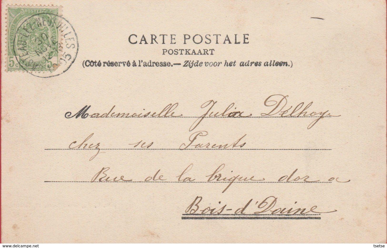 Casteau - La Grand'route - Château Ansiau - 1905 ( Voir Verso ) - Soignies
