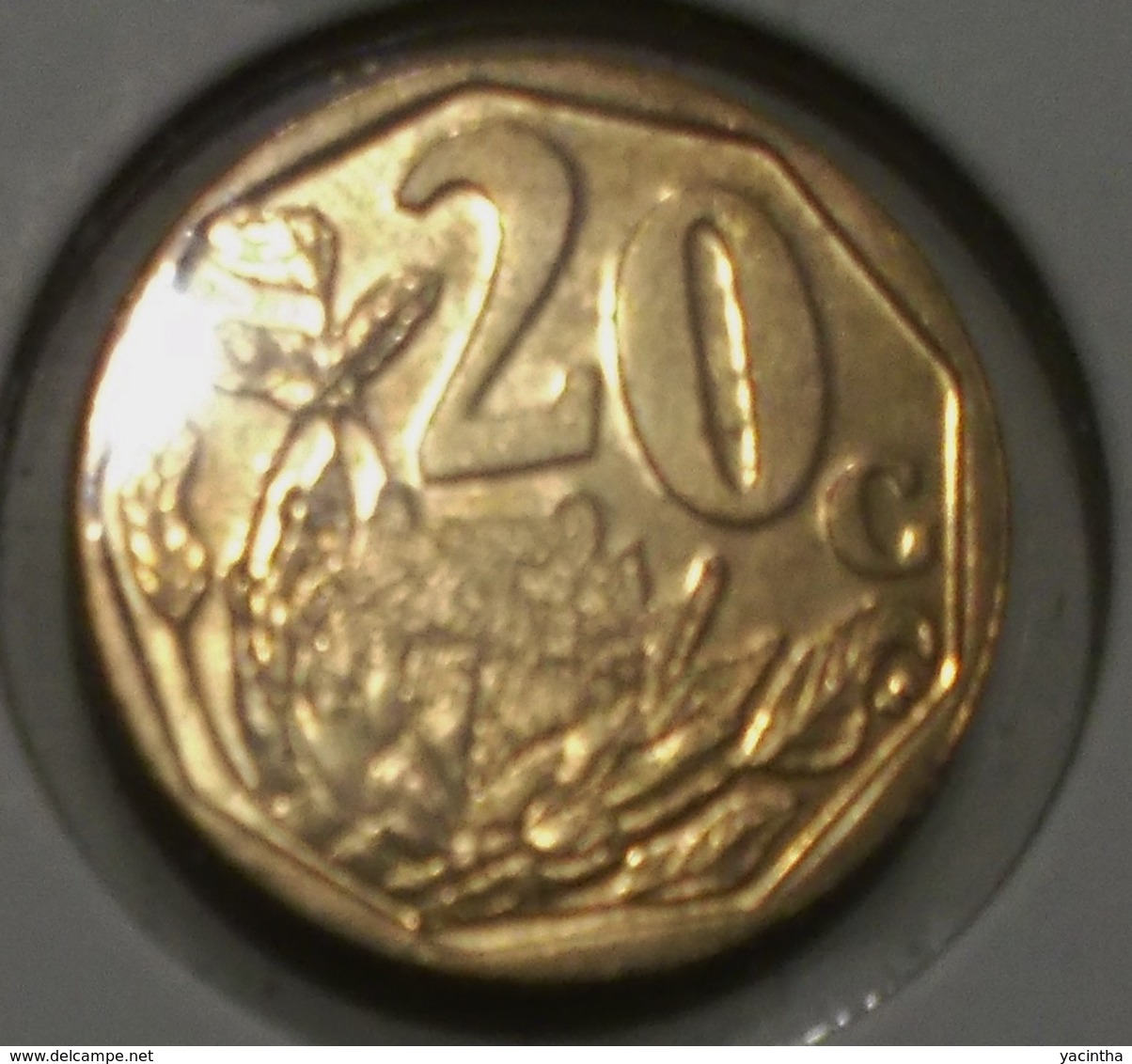 @Y@    Afrika   Iningizimu    20 Cent   2007    (3224) - Monnaies