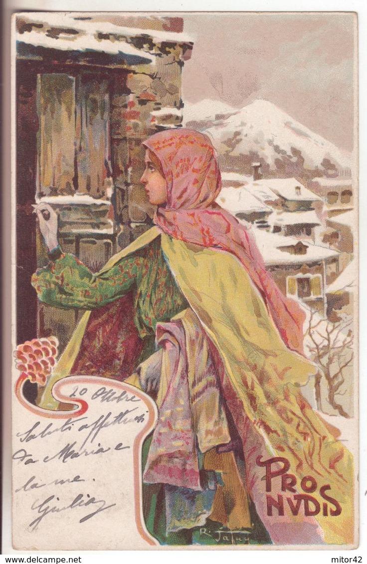 181-tematica Illustratori:Firmata Tafuri-Pro Nudis-v.1915 X Napoli - Illustrateurs & Photographes