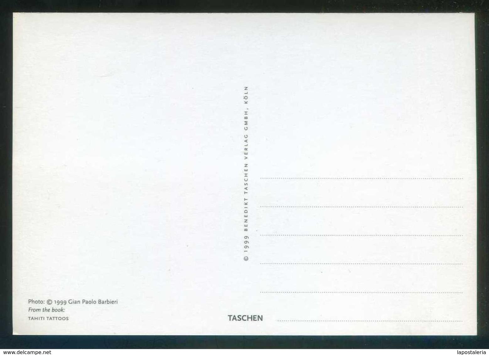 Gian Paolo Barbieri *Tahiti Tattoos* Ed. Taschen 1999. Procede Del Libro De 3o Postales. Nueva. - Fotografía