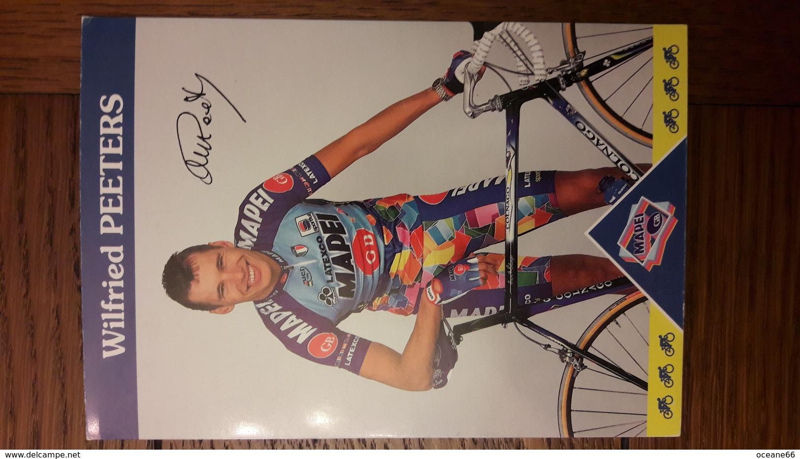 Wilfried PEETERS Mapei 1997 - Cyclisme