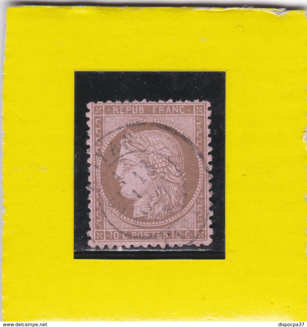 CERES N° 58  CAD  ROYAN   - REF 10417 - 1871-1875 Ceres