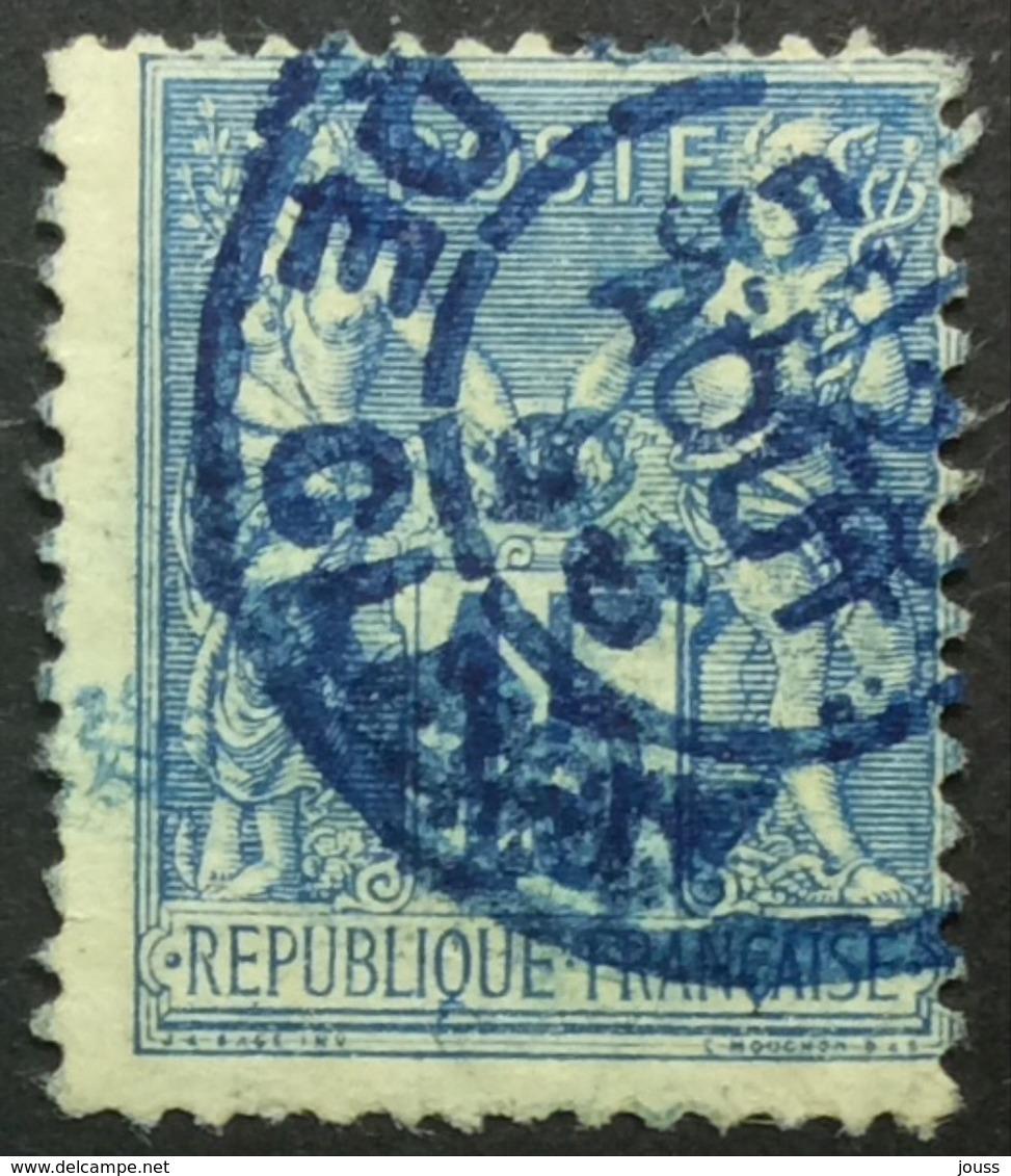 15 C P 64 Paris 24  Cléry Bleu - Marcophilie (Timbres Détachés)