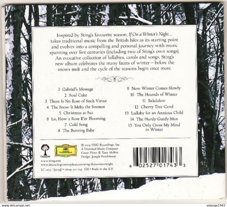 CD STING If On A Winters Night Etat: TTB Port 110 Gr Ou 30gr - Musik & Instrumente