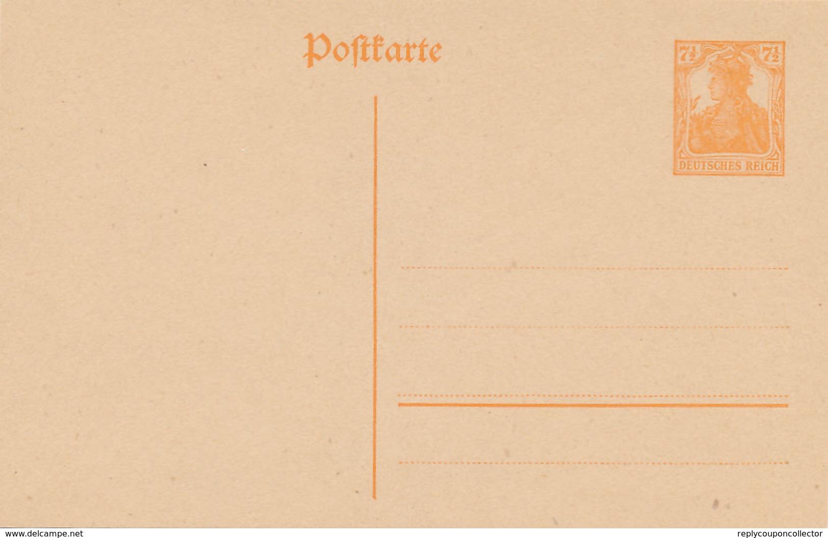 DR  -  1916 , Germania - Germany