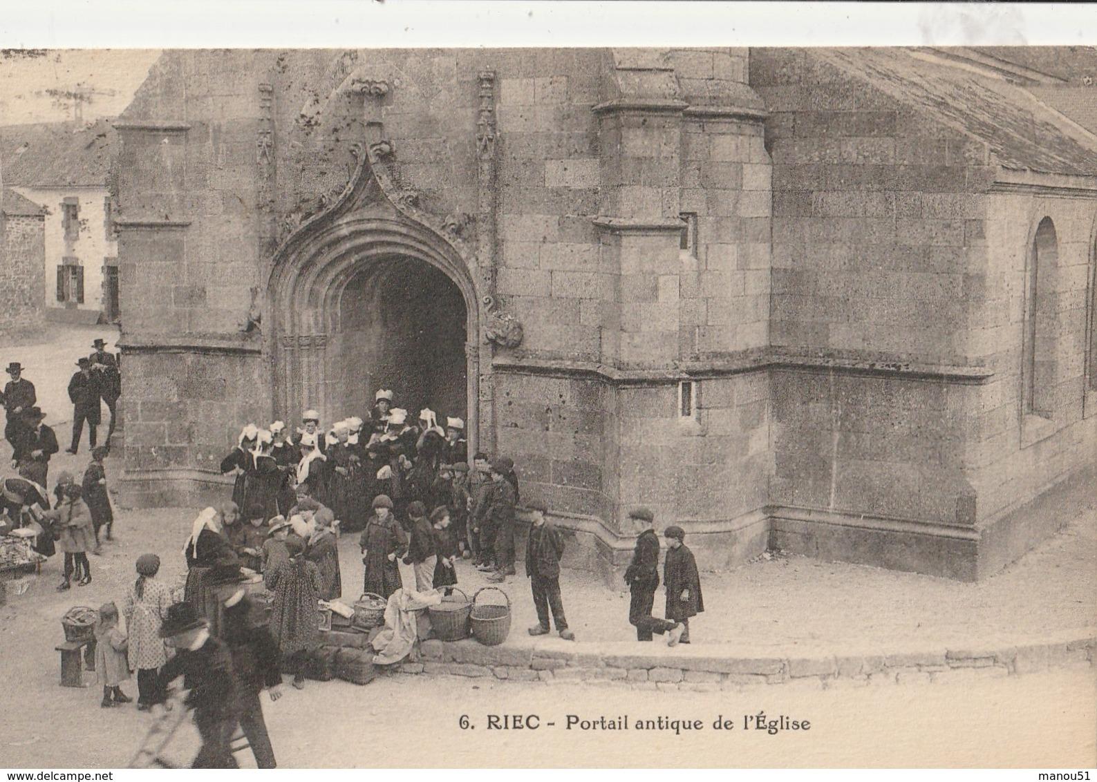 RIEC  Portail Antique De L'Eglise - Francia